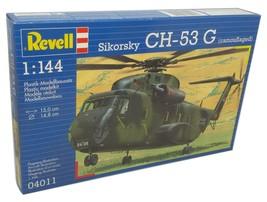 Revell 1/144 Sikorsky CH-53G Camouflaged Plastic Model Kit - $12.00