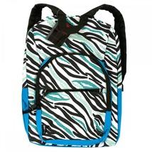 Aka Sport Zebra Stripe Pocket Backpack OT051 - $64.52 CAD