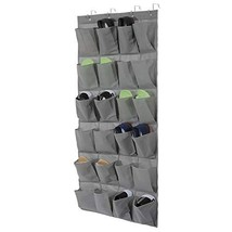 Over The Door Shoe Organizer, Hanging Shoe Rack for Closet Shoes Storage with 24