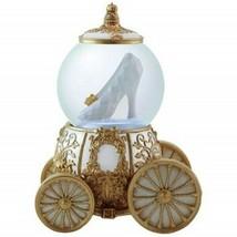 Disneys Cinderella's Slipper and Carriage 100mm Water Globe UNUSED Shoe ... - $29.02