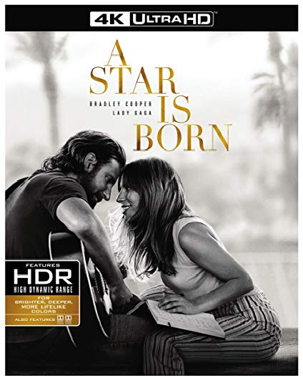A Star Is Born (4K Ultra HD + Blu-ray, 2019)
