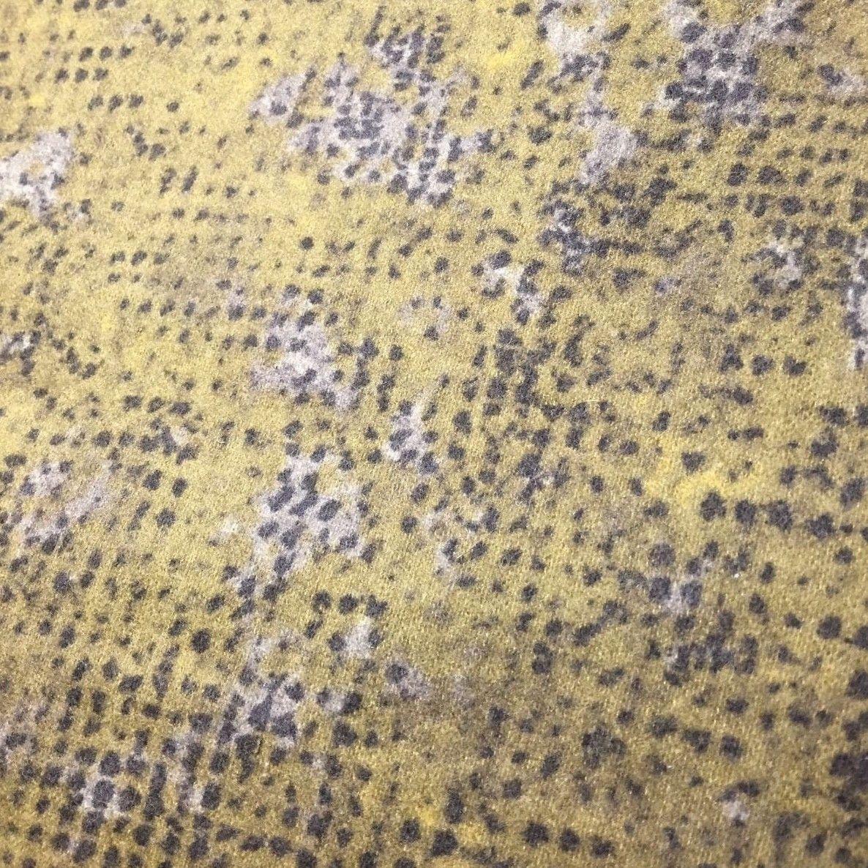 Speckled Mottled Flannel Blender Fabric Tic Tac in Tan by Kim Schaefer Andover