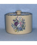 Home & Garden Party Floral Butter Box/Crock with Lid 2004 - $12.99