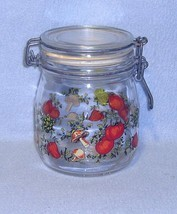 Corning Spice of Life 5 inch Hinged Lid Glass Canister with Seal - $4.99