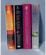 Nora Roberts Lot of 4 PB's Birthright, High Noon, Rivers End & Genuine Lies - $10.99
