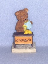 Avon Days of the Week Bears Saturday's Bear Works Hard for a Living - $4.99
