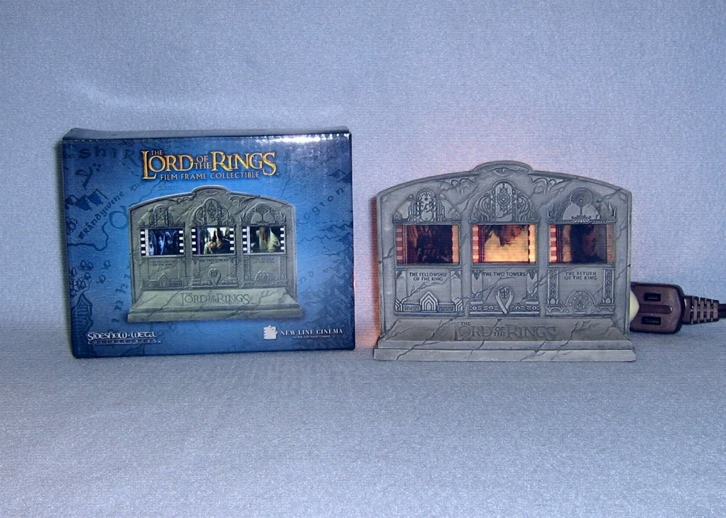 Primary image for Lord of the Rings Film Frame Collectible Figurine NIB