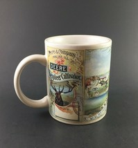 GIBSON John Deere White Reindeer No. 21 Cultivator Coffee/Tea Cup NEW - $9.85