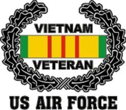 Official USAF Vietnam Veteran Decal - $11.87
