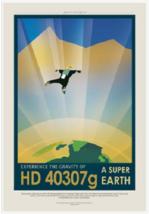NASA Visions of the Future Hd 40307G Poster - $39.00