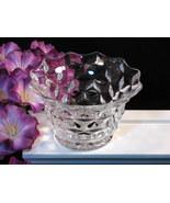 Fostoria Glass American Crystal Mayonnaise Bowl, Vintage Mid Century Art... - $19.99
