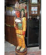 """CIGAR STORE INDIAN 4 Ft """"Cheers"""" TV Show 4' Wooden Replica by F Gallaghe... - $899.00"""