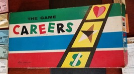 1958 CAREERS Board Game, Vintage Parker Brothers Board Game PLEASE READ - $12.59