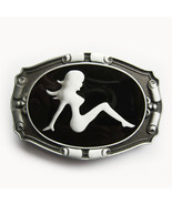 Truck Mud Flap Girl Rider Biker Belt Buckle Gurtelschnalle Boucle de cei... - $7.62