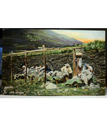 RT109 Tuck's Photochrome Series 4491 A Scottish Farm Div Back  Not Poste... - $5.00