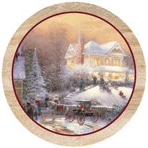 Victorian Christmas II Sandstone Coasters - $20.00
