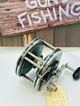 Penn 49 Super Mariner Fishing Reel Vintage made in USA Works Great - $37.21