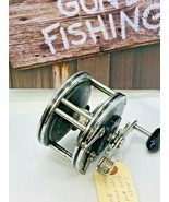 Penn 49 Super Mariner Fishing Reel Vintage made in USA Works Great - £28.19 GBP