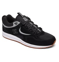 Mens Dc Kalis Slim Skateboarding Shoes Nib Black Grey (Blg) - $67.49