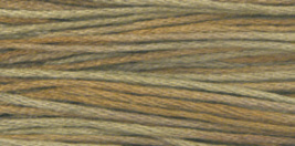 Cocoa (1233) 6 strand embroidery floss 5yd skein Weeks Dye Works - $2.25