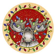Big Sky Christmas Moose Coasters - $13.95