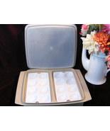 Vintage Tupperware Deviled Egg Server Tray Carrier Storage - $24.99