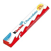 Kinder Chocolate Snake 36 Medium Milky Bars 25P PMP - $16.20