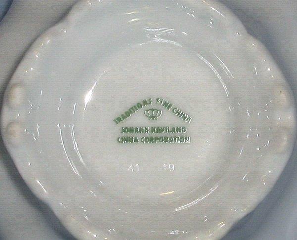 Johann Haviland Moss Rose Creamer 8 ounce  Gold Trim