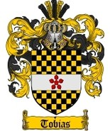 Tobias Family Crest / Coat of Arms JPG or PDF Image Download - $6.99