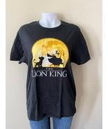 Disney's The Lion King Timon, Pumbaa & Simba Women's XL Black T-Shirt - $22.21