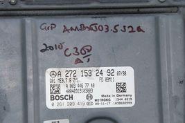 08-11 Mercedes C300 W204 Engine Computer Ignition FOB ECU EIS ISL Combo Set  image 3