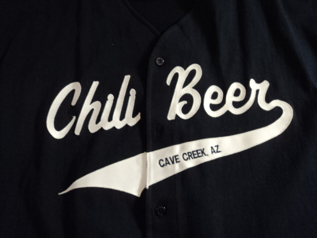 Chili Beer Jersey from Cave Creek, Arizona by Boa Sportswear
