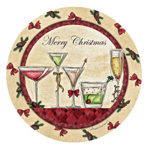 Merry Christmas Cocktails Coasters - $13.95