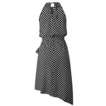 Women's Brand Fashion Halter Polka Dot Wrap Sundress image 7