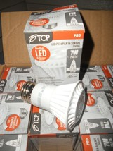 TCP Dimmable PAR16 LED Lamp Floodlight, 7W, 3000K, 350LUM. E26 base 120V... - $3.95