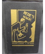 Magic: Here's Magic by Hahne Nelson, Berg Joe Signed by both  - $125.00