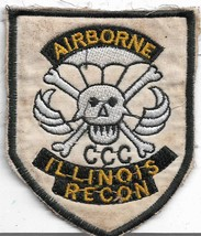 Us Army Illinois Recon Airborne Vietnam Vintage Patch - $12.33