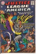 DC Justice League Of America #55 Justice Society Super-Crisis Justice Le... - $11.95