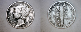 1940-D Mercury Dime Silver - $9.99
