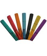 """Color Unscented Incense Sticks 7 Colors 11"""" Punk 100 - 500 Sticks aprx. - $9.99+"""