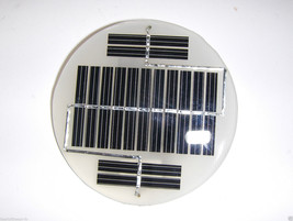 mini solar panel  7.6v  x  50 ma   epoxy encapsulated virtually indestru... - €2,34 EUR