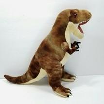 "Wild Republic T-Rex Tyrannosaurus Rex Dinosaur 12"" Plush Stuffed Animal Brown  - $16.82"