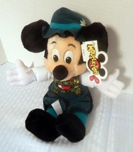 German Mickey Mouse Plush Disney Store Stuffed Animal NWT - $13.30