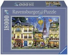 Evening Walk in Paris, 18,000 Piece Puzzle - $240.09