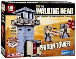 Walking Dead McFarlane Toys The Prison Tower Building Set – AMC TV Serie... - $25.15