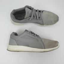 Puma Mens Gray Suede St Trainer Evo SD Sneakers: Sz 10 - $19.39