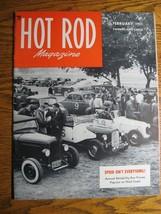 February 1951 Hot Rod Magazine, Racing Willys Jeep, Salinas Drag, Street... - $41.30