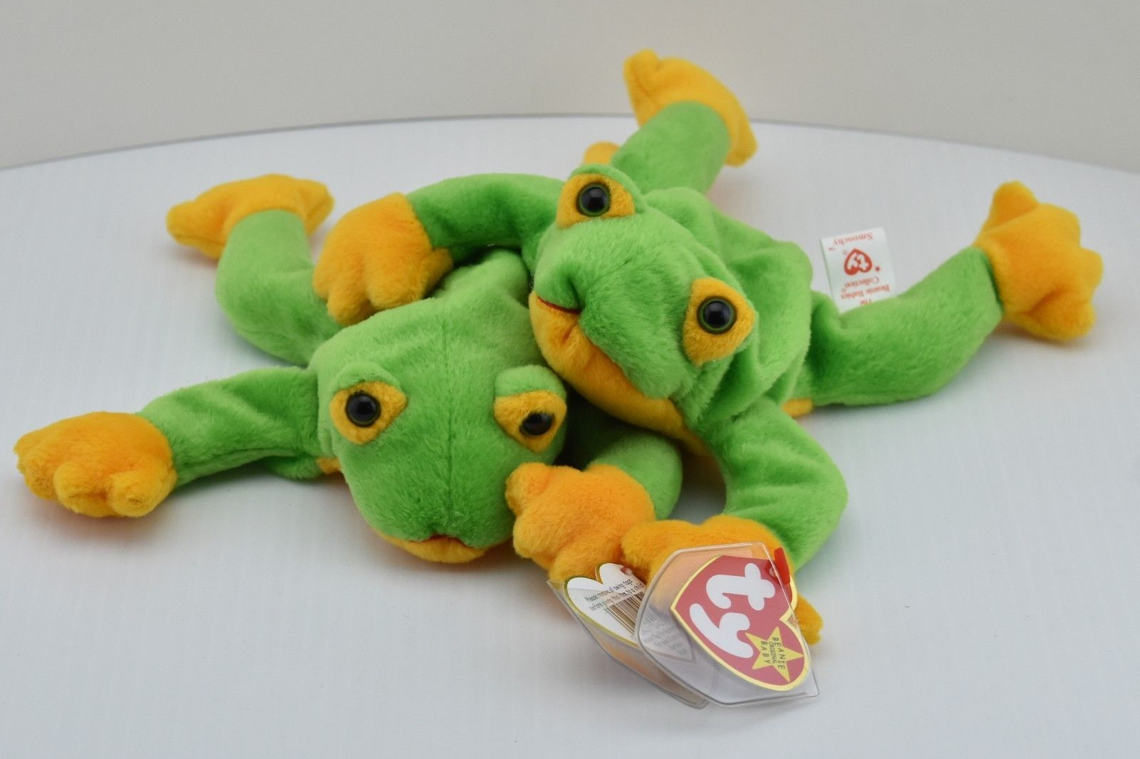 Frog Smoochy Beanie Baby - 2 Smoochies with and 50 similar items 1bc4b636959