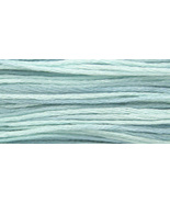 Aqua (2131) 6 strand embroidery floss 5yd skein... - $2.25