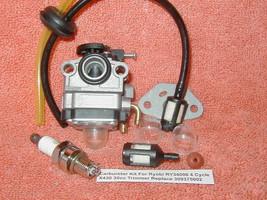 Carburetor Kit For Ryobi RY34006 4 Cycle X430 30cc Trimmer Replace 30937... - $13.23